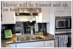 Yup this just inspired something I'll be doing when we redo our kitchen!