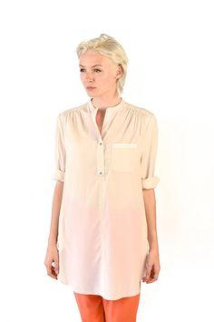 Louise blouse in Sorbet Cream