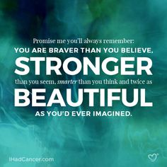 20 Inspirational Quotes for Cancer Survivors, Fighters & Caregivers | I Had Cancer.