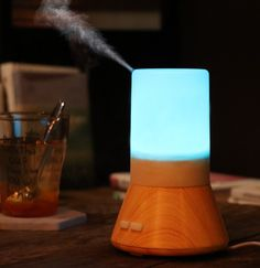 Home Appliances New Fashion Humidifier Triple Diffuser Mushroom Lamp Multi-function Humidifier Bedroom Living Room Study Yoga Office Spa We Take Customers As Our Gods
