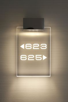 Hotel room number _