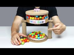 (58) Wow! Amazing DIY Gumball Automatic Machine from Cardboard - YouTube