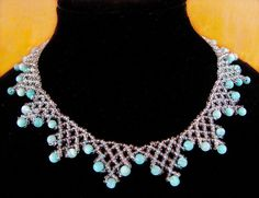 Free pattern for necklace Clark Click on link to get pattern - http://beadsmagic.com/?p=4948
