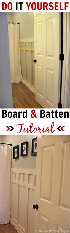 Follow this DIY board and batten tutorial to create a handsome new look in your home.