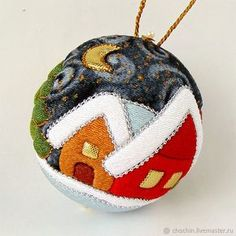 - Christmas ball collection kimekomi kimekomi in the online store at the Fair of Masters Quilted Christmas Ornaments, Fabric Ornaments, Clear Ornaments, Felt Christmas, Christmas Tree Decorations, Christmas Tree Ornaments, Christmas Snowflakes, Christmas Crafts, Ball Ornaments