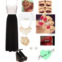 """Prom 2014"" by vanessaguerraa on Polyvore"