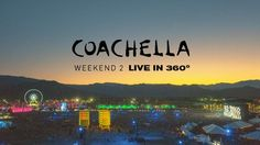 Dance your weekend away with our @coachella 360 live stream.