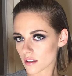 Captured this beauty shot for premiere look #kristenstewart #equals #tiff15 using @chanelofficial hair by the lovely @bridgetbragerhair and make up @jilliandempsey