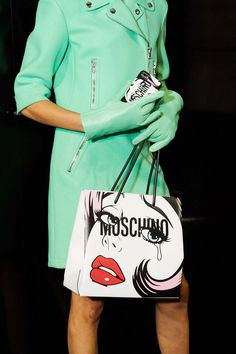 Backstage at Moschino Fall/Winter 2018 Fashion Show - See more on www.moschino.com
