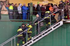 Passengers rescued from Italian ferry fire Fire, World, The World