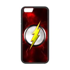 The Flash Logo Case for iPhone 6
