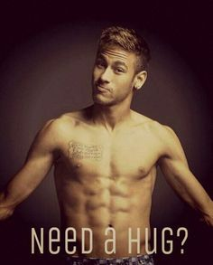 Come to think of it, Neymar is actually pretty darn cute. His eyes though♡