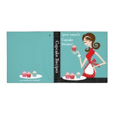 Cupcake Recipes 3 Ring Binder