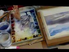 Peinture sous vos yeux avec Dominique Darras : comment peindre un ciel à...