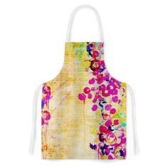Kess InHouse Ebi Emporium 'Wall Flowers' Artistic Apron
