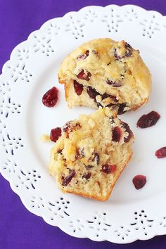 Cranberry orange muffins, the seasonal fruits of winter!  How would these work in pancakes or oatmeal?