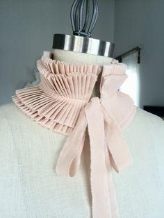 NEW Ruffle collar/Pleated Collar/More от marinaasta на Etsy                                                                                                                                                                                 More