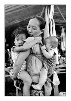Baby carriers from around the globe.
