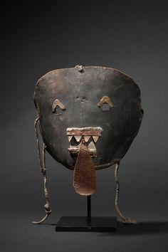 Chakwaina Warrior Kachina Ritual mask | Galerie Flak