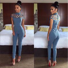 Item Type: Jumpsuits & Rompers Gender: Women Decoration: Hollow Out Fit Type: Skinny Pattern Type: Solid Style: Casual Type: Jumpsuits Fabric Type: Broadcloth Material: Polyester,Lycra Length: Full Le