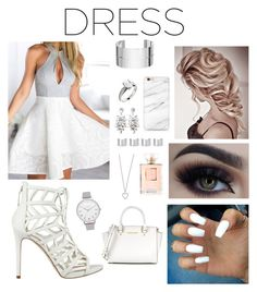 """""""Dress Contest"""" by leilani14 on Polyvore featuring GUESS, Olivia Burton, Dinh Van, Maison Margiela, Forever 21, Michael Kors, Chanel and Yves Saint Laurent"""