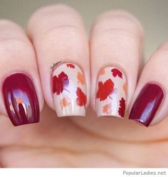 amazing-fall-gel-nails-with-print
