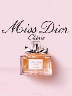 Miss Dior Cherie - one of my favorite   perfumes