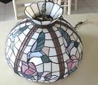 For Sale - Tiffany Style Stained-Glass Lamp 19 1/2 inches diam. 13 inches ht. Gorgeous! - http://sprtz.us/Tiffany