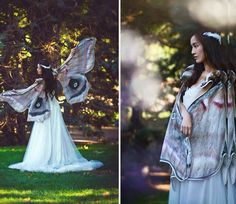 Cloaks That Make You Look Like A Moth Or Butterfly | Geekologie