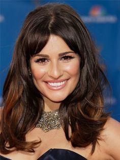 Lea Michele at 2010 Emmy Awards | POPSUGAR Beauty