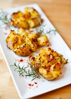 Crash Hot Potatoes   Really nice recipes. Every hour.