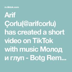 Arif Çorlu(@arifcorlu) has created a short video on TikTok with music Молод и глуп - Botg Remix. Bunu seven bir tek ben olamam 😂😅 #arifcorlu #powerAwesome #trend #fyp #tiktok #danse Kai, Super Mario Run, Videos, Hisoka, Boku No Hero Academy, Hunter X Hunter, Adult Humor, My Hero Academia, Real Life