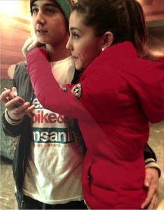 @Chanelnumber2 Ariana Grande and Jai Brooks