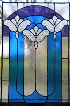 Hey, I found this really awesome Etsy listing at https://www.etsy.com/listing/19316614/art-noveau-stained-glass-window-panel #StainedGlassBathroom