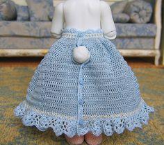 Crocheted petticoat