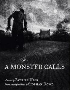 A Monster Calls by Patrick Ness how the book is layed out. The illustrations really sets out the scenes in the book. Ya Books, I Love Books, Good Books, Books To Read, Reading Lists, Book Lists, A Monster Calls, Reading Challenge, What To Read