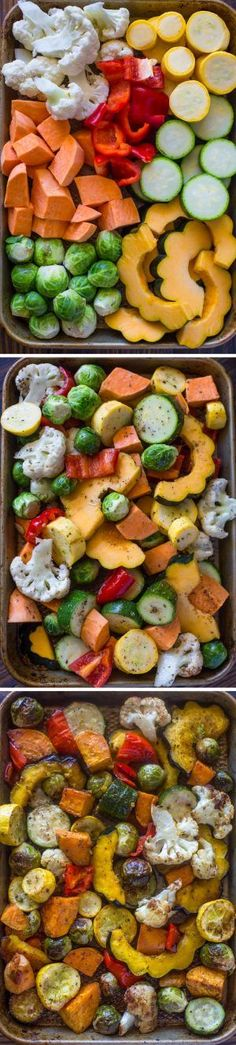 Frugal Food Items - How To Prepare Dinner And Luxuriate In Delightful Meals Without Having Shelling Out A Fortune Autumn Roasted Veggies Side Dish Recipes, Veggie Recipes, Vegetarian Recipes, Cooking Recipes, Healthy Recipes, Veggie Bake, Roasted Vegetable Recipes, Roast Recipes, Roasted Vegetables