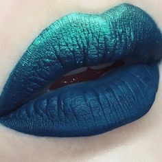 Turquoise Blue Lip