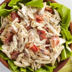 There are hundreds more recipes where these crowd-pleasers come from. Search for what you're craving and let the deliciousness begin. Chicken Bacon Ranch Pasta Salad Recipe, Kfc Chicken Recipe, Baked Ranch Chicken, Ranch Chicken Recipes, Hasselback Chicken, Chicken Kabobs, Pulled Chicken, Breaded Chicken, Keto Chicken