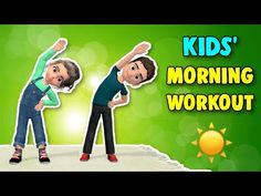 Morning Exercises - YouTube Movement Songs For Preschool, Physical Activities For Kids, Preschool Activities, Physical Education, 15 Min Workout, Workout Videos, Exercise Videos, Easy Workouts, At Home Workouts