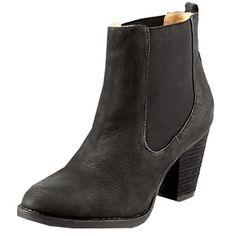 Coole schwarze Ankle Boots 99,90€ <3 Hier kaufen:  http://www.stylefru.it/s23876 #Schuhe #Absatz #Mode