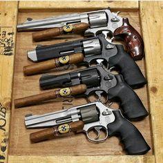 #gunporn #guns #handgun #gundam #gunfanatics #gunit #bangbang #44magnum #357magnum #8shot #thunderranch45acp #9mm #proseries #matching #caliber #cigars #cigarporn #menbelike #iwantone by kronique_queen420