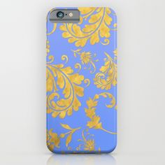 Queenlike on blue iPhone & iPod Case