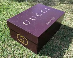Shoe box Giant Gucci Shoe Storage Box - Monogram How An Ultrasonic Humidifier Works Dry air is a com Big Shoe Box, Giant Shoe Box, Phones Shoes, Shoe Box Storage, Storage Ideas, Sneaker Storage, Furniture Grade Plywood, Gucci Monogram, Monogram Box