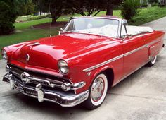 1954 Ford Sunliner Crestline Convertible...Re-pin...Brought to you by #HouseofInsurance for #CarInsurance #EugeneOregon