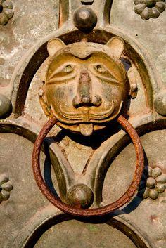 Saint Mark's door details