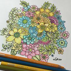 KC Doodle Art - beautiful doodle flowers