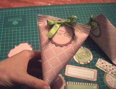 réalisez des petits berlingots de Noël avec Ed! - Swirlscrap - le blog scrap de Swirlcards