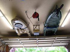 Kayak Garage Storage How-To