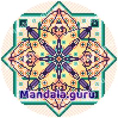 This is my personalized Mandala! Create your own Mandala Design for Cross Stitch! Create Yourself, Create Your Own, Mandala Design, Cross Stitch Designs, Pattern Design, Symbols, Art, Craft Art, Icons